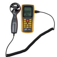 GM8902 Air Flow Anemometer Wind Speed Gauge Meter Air Temperature Measurement Tester Indicator