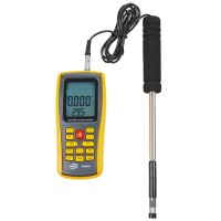 GM8903 Digital Hot Wire Anemometer Tachometer Wind Speed Gauge Air Flow Temperature Meter Tester Measurement