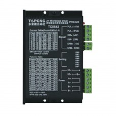 TC8642 DC24V-50V Two-Phase Stepper Motor Driver 4.2A 128 Microstep Driving for Engraving Machine CNC
