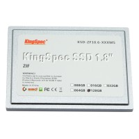 KSD-ZF18.6-128MS KingSpec SSD Harddisk 128G 1.8 ZIF Hard Drive Disk 40Pin Disque HD for iPod Classic 6th 7th ASUS R2E SAMSUNG Q1