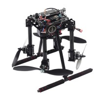 Unassembled Lji ZD550 4-Axis Folding Carbon Fiber Quadcopter Frame Kit w/APM2.8+N8M GPS for FPV RC Multicopter DIY