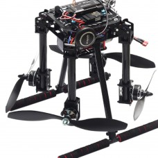 Unassembled Lji ZD550 4-Axis Carbon Fiber Folding Quadcopter Frame for FPV RC Multicopter DIY