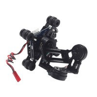 FPV 3-Axis Brushless Gimbal Camera Mount with Drive Board & Motor for GoPro SJCAM Sports Camera