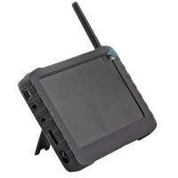 TE968H 2.4G 5inch Wireless LCD FPV DVR Monitor + TE60A 24CH Camera 100M 90 DegreeTransmitter Kit