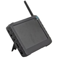 TE968H 2.4G 5inch Wireless LCD FPV DVR Monitor + TE60B Camera Module 50 Degree 100m Transmitter Kit