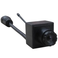 TE92A Wireless Mini CCTV Audio Video Camera 90 Degree + TE968H 5inch LCD FPV DVR Monitor