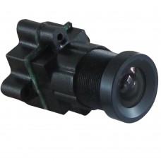MC59B36 DC3.3V-24V Mini FPV Camera 90 Degree Lens 520TVL 0.008Lux CCTV Video Cam w/Audio for Security