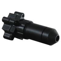 MC5945P DC5V-24V Mini Pinhole Inspection Camera 15 Degree Lens 520TVL 0.008Lux CCTV Video Cam w/Audio for Security