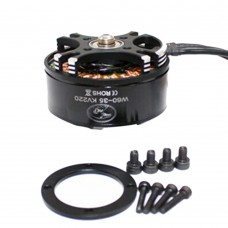HLY W6035 220KV 28A 1080W Multi-Rotor 5215mm Brushless Motor for FPV Multicopter Drones 1 Pair