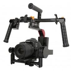 MOY SteadG-S 32bit Brushless Handheld 3-Axis Gimbal Camera Mount PTZ for 5D3 GH4 A7S DSLR