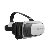 """VRBOX Generation II Google Cardboard Headset Virtual Reality VR 3D Glasses for 4.7""""-6.0"""" Phones+Bluetooth Controller"""