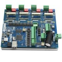 200KHz USB MACH3 4 Axis Control Driver Board TB6600 for Stepper Motor Driver DDMDT