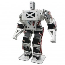 17 DOF Biped Robot Humanoid Anthropomorphic Combat Battle Robot Frame Height 38cm w/Servo