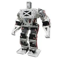 17 DOF Biped Robot Humanoid Anthropomorphic Combat Battle Finished Robot Height 38cm