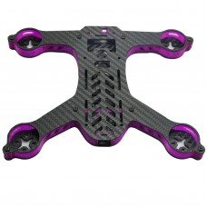GE-FPV SIGAN 210 210mm 4-Axis Carbon Fiber Mini Racing Quadcopter Frame 10mm Internal Height for FPV