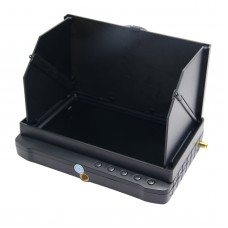 TE981H-1.2 Mini 5inch 32CH 1.2G Wireless FPV Monitor DVR Camera HD Display Receiver with Sunshade
