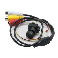 MC495A DC3.3V-6V Mini CMOS CCTV Camera 520TVL 0.008Lux HD Video Cam for Security