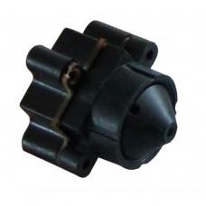 MC59P36 DC3.3V-24V Mini FPV Camera 3.6mm 90 Degree Lens 520TVL 0.008Lux CCTV Video Cam w/Audio for Security