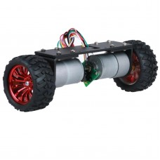 JGA37-360 2WD Self-balancing Car Chassis with Metal Gear Motor for RC Models