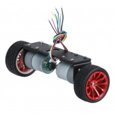 JGA37-26 2WD Car Chassis Self-balancing Car with Metal Gear Motor for RC Models