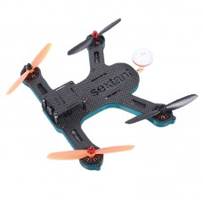 SEXTANTIS-L230 Mini 4-Axis Carbon Fiber Quadcopter Kit w/Monitor ESC Motor UAV for FPV
