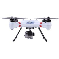 Splash Drone Waterproof Amphibious FPV Quadcopter Kit w/2.4G 8CH Remote Controller RTF Version