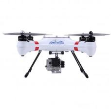 Splash Drone Waterproof Amphibious FPV Quadcopter Kit w/2.4G 8CH Remote Controller RTF Version