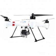 "Splash Drone Waterproof Amphibious FPV Quadcopter Kit w/Remote Controller 7"" Monitor AUTO Version"