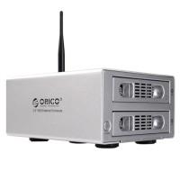 ORICO 3529U3RF Storage Dual Bay Wifi NAS 3.5'' HDD Enclosure Wireless Home Cloud Storage HDD Case RAID