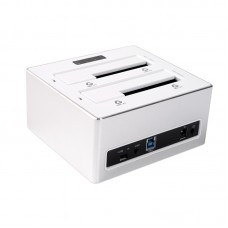 """ORICO 6828US3-C Aluminum SATA3.0 HDD Docking Station Duplicator USB 3.0 for 2.5"""" 3.5"""" HDD Support 8TB"""