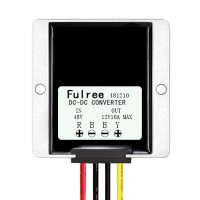 Fulree 48V to 12V 10A DC-DC Converter Step Down Voltage Regulator Buck Power Conversion