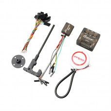 SP Racing F3 Flight Controller Deluxe Version with M8N GPS & CF OSD for FPV Multicopter QAV250