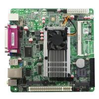 ITX-D525 Intel ATOM CPU D525MW Motherboard INTEL MINI ITX POS ATM All in One Mainboard PCI Slot