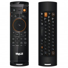 MeLE F10 Deluxe Fly Air Mouse Wireless QWERTY Keyboard Remote Control 2.4GHz Gyro IR for Android TV Box PC