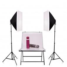 Photography Lighting Kit Softbox + Light Tripod + Flash Lamp Holder Photo Studio Equipment Set