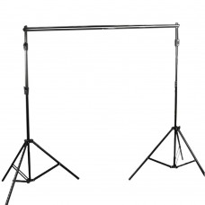 High Quality 3Mx2.6M Retractable Backdrops Stand Tripod Background Frame Support for Photography Photo Studio