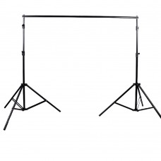 Photo Background 3mx6m Cotton Backdrop Screen+Retractable Stand Tripod for Shooting Photography Studio