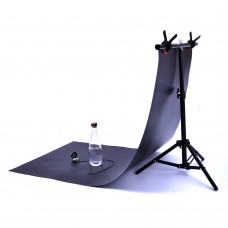 T-Shape Photography Background Tripod Support Stand 44-76x68CM for Photo Studio Backdrop Shooting