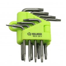 Durable Reinforced Toughen Hex Key Wrench Set Spanner Star Tool Screwdriver  8Pcs