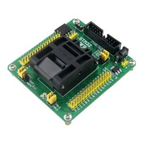STM32 Programming Adapter Test Socket Conversion Module for LQFP64 Package 0.5mm Pitch