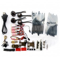 Kingkong Force 200 Propulsion System Combo Micro CC3D Flight Controller 12A ESC 2204 Motor for FPV Multicopter
