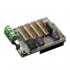 DFRobot 3.3V 5V IO Expansion Shield Color-Code 3Pin Interface Module for Bluno M3 DIY Arduino