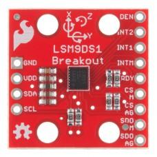 LSM9DS1IMU Sensor 9DoF High Precision Integrated 9 Axis Attitude Sensor SPI I2C for Arduino DIY
