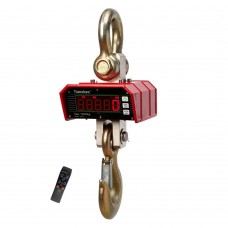 Tianchen OCS-K 1T-3T Infrared Remote Control Solid Scale w/Hook Electronic Crane Scale Balance LED Module Display