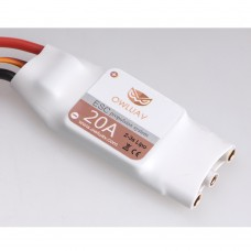OWLUAV 20A 3S Brushless ESC Propulsion System for FPV Fixed Wing Multicopter