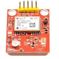 GPS-NEO-6M-001 3V 5V GPS Module with 25mmX25mm Ceramic Passive Antenna for DIY