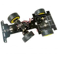 ZY8-C51 SCM Servo Control Smart Car Frame Kit Spare Parts for DIY Robot Development