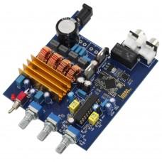 TPA3116+LM1036 Class D DC18V-24V 50W+50W CSR4.0 Bluetooth Amplifier Board Treble Bass Adjustment Audio Amp