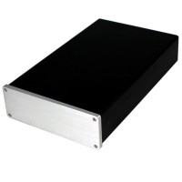 WA18 Aluminum Shell Case Protective Box Enclosure for DAC Amplifier 308x190x65mm