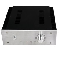 WA17 DAC Amplifier Aluminum Box Shell Case 260*270*90mm Enclosure with Fine-Toothed Sink
